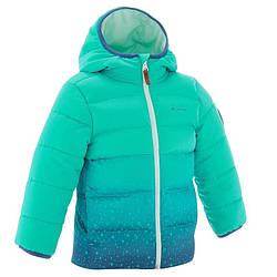 Куртка туристическа зимняя Quechua X-Warm детская