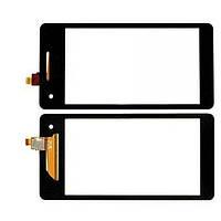 Sony Xperia V LT25i сенсорний екран, тачскрін чорний