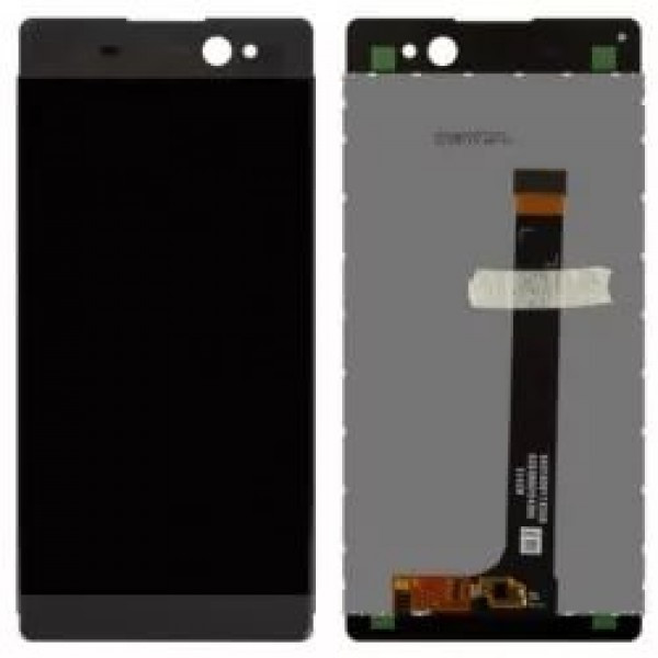 Дисплей модуль XA Ultra F3212  в зборі з тачскріном сірий