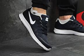 Кроссовки мужские Nike Air Zoom All Out 3,темно синий с белым 43,44,45, фото 3