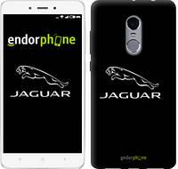"""Чехол на Xiaomi Redmi Note 4 Jaguar. Logo v2 """"3164c-352-571"""""""