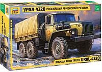 1:35 Сборная модель автомобиля Урал-4320, Звезда 3654