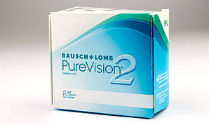 "Линза контактная ""PureVision 2"", Bausch and Lomb"
