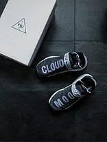 Кроссовки мужские Adidas Human Race NMD x Pharrell Williams «Oreo» топ реплика, фото 3