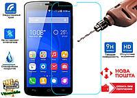 Защитное стекло оригинальное Huawei Honor 3c Lite 2,5D / закругленные края / олеофобное покрытие