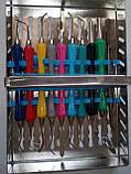 Набір для пломбування з 9 предметів з силіконовими ручками, фото 3