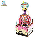 Музыкальная шкатулка Robotime Сделай сам Принцесса