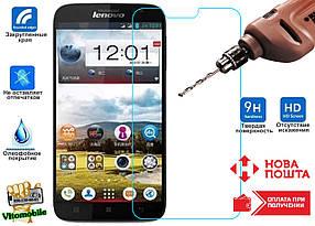Защитное стекло оригинальное Lenovo A850 2,5D / закругленные края / олеофобное покрытие