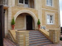 Облицовка фасада камнем и плиткой в Харькове