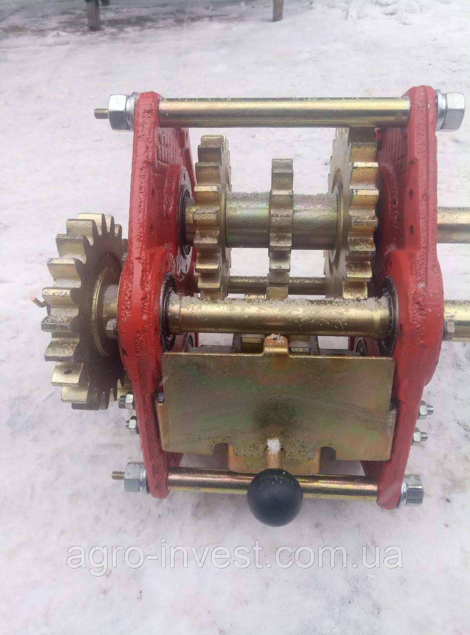 Механизм передач к сеялке СЗ-3,6 108.00.2020А-02