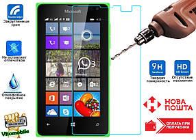 Защитное стекло оригинальное Microsoft Lumia 435 2,5D / закругленные края / олеофобное покрытие