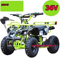 Детский квадроцикл Crosser 35км/ч, 36V, 1000W до 100 кг
