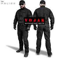 """Костюм тактический """"DELTA"""" POLICE Black, фото 1"""