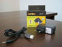 ЗУ Sertec для планшета и видео камеры ST-T1, 5V/2A + 2,5 mm (сзу+кабель)