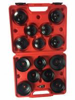 Набор съёмников масляных фильтров, 14 предметов 1-A1075 Ampro