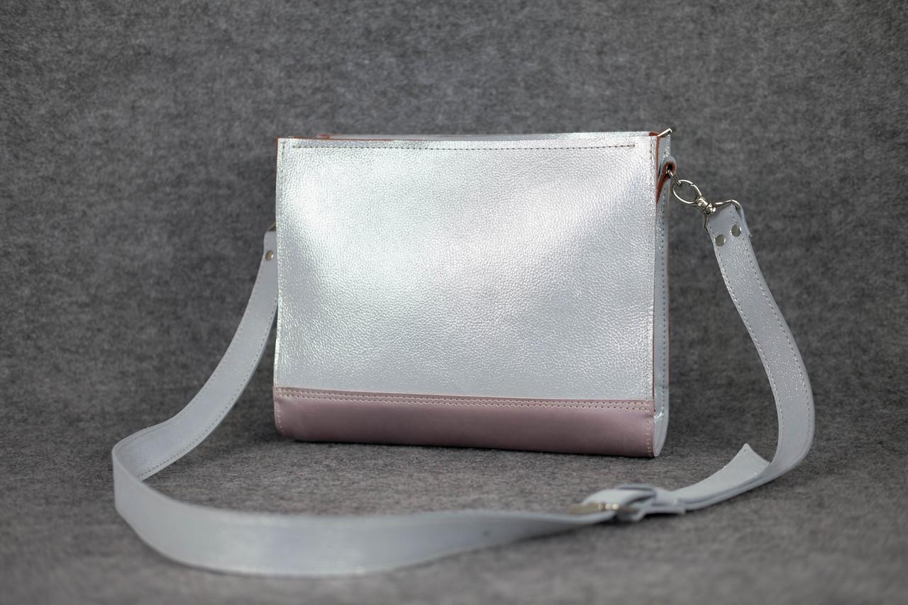 Сумочка HANKLE W1 |11445| Серый + Розовый (без ручек)