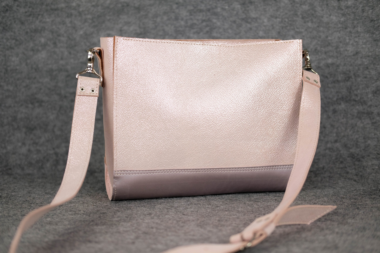 Сумочка HANKLE W1  11448  Пудра + Розовый (без ручек)