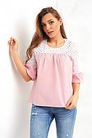 Женская блуза свободного фасона