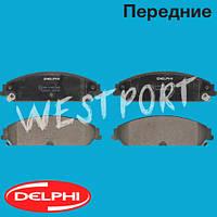 Тормозные колодки Delphi Передние Дисковые Под датчик износа LP2033