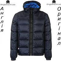 Куртка пуховик Karrimor темно синяя с капюшоном   Куртка пуховик Karrimor темносиня