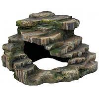 Декорация Trixie Грот угловой со ступеньками 19*17*17 см