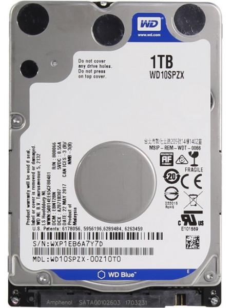 "HDD Western Digital Blue 1TB WD10SPZX 2.5 ""SATA III"