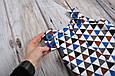 "Ромпер ""Барселона"", треугольники, 62, 68, 74, 80, 86 , фото 4"
