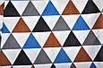 "Ромпер ""Барселона"", треугольники, 62, 68, 74, 80, 86 , фото 6"