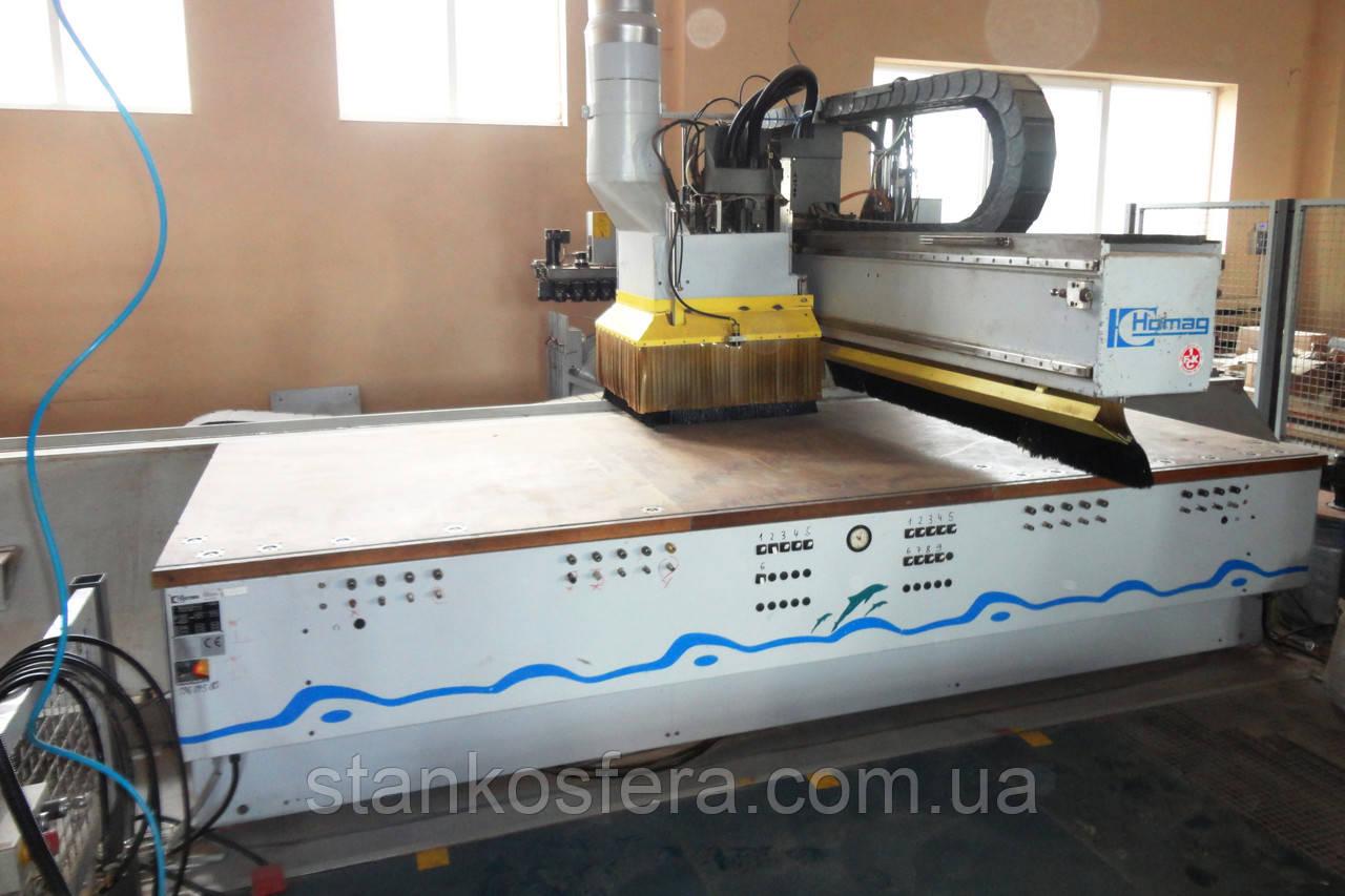 Обрабатывающий центр Homag BAZ 20 30 14 G с кромкооблицовочным узлом
