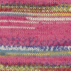 Пряжа носочная DROPS Fabel, цвет 161 Pink Dream Print