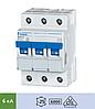 Автоматический выключатель Doepke DLS 6h B6-3 (тип B, 3пол., 6 А, 6 кА), dp09914109