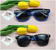 Солнцезащитные очки в стиле wayfarer ray ban, 100 % UV защита.