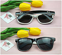 Солнцезащитные очки в стиле wayfarer ray ban, 100 % UV защита. , фото 1