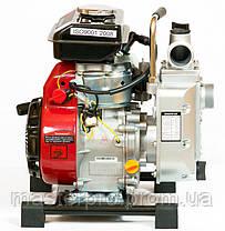 Мотопомпа бензиновая Weima WMQGZ40-20, фото 2