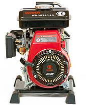 Мотопомпа бензиновая Weima WMQGZ40-20, фото 3