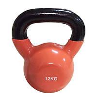 Цветная виниловая гиря Rising 12 кг DB2174-12