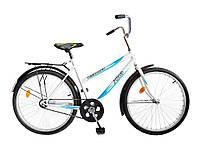 Велосипед дорожній 24 Teenager 011 бiлий (синя деколь) 174011 ТМХВЗ