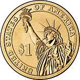 США 1 доллар 2009, 9 президент Уильям Гаррисон (1841), фото 2