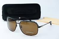 Солнцезащитные очки Chrome Hearts коричневые , фото 1