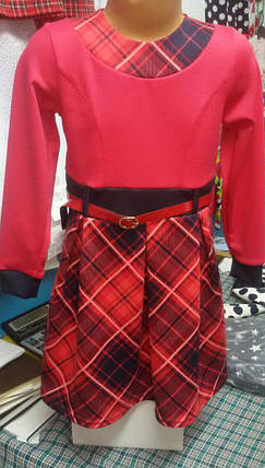 Платье нарядное с поясом, фото 2
