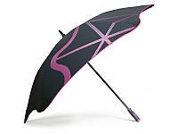 Противоштормовой зонт-трость мужской механический  с большим куполом BLUNT (БЛАНТ) Bl-golf1-pink