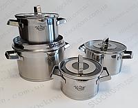 Набор посуды Krauff  Modern Schwarz 8 предметов 26-202-011 (88-222-016)