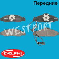 Тормозные колодки Delphi Daewoo KORANDO Daewoo MUSSO Передние Дисковые Под датчик износа LP1145
