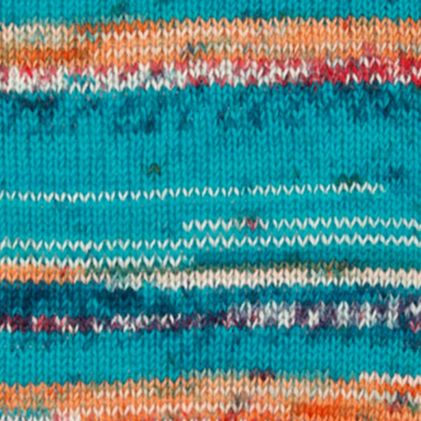 Пряжа DROPS Fabel, цвет 162 Blue Sea Print