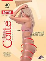 """Колготки ТМ """"Conte"""" Active 40 ден, размер 4, цвет Mocca"""