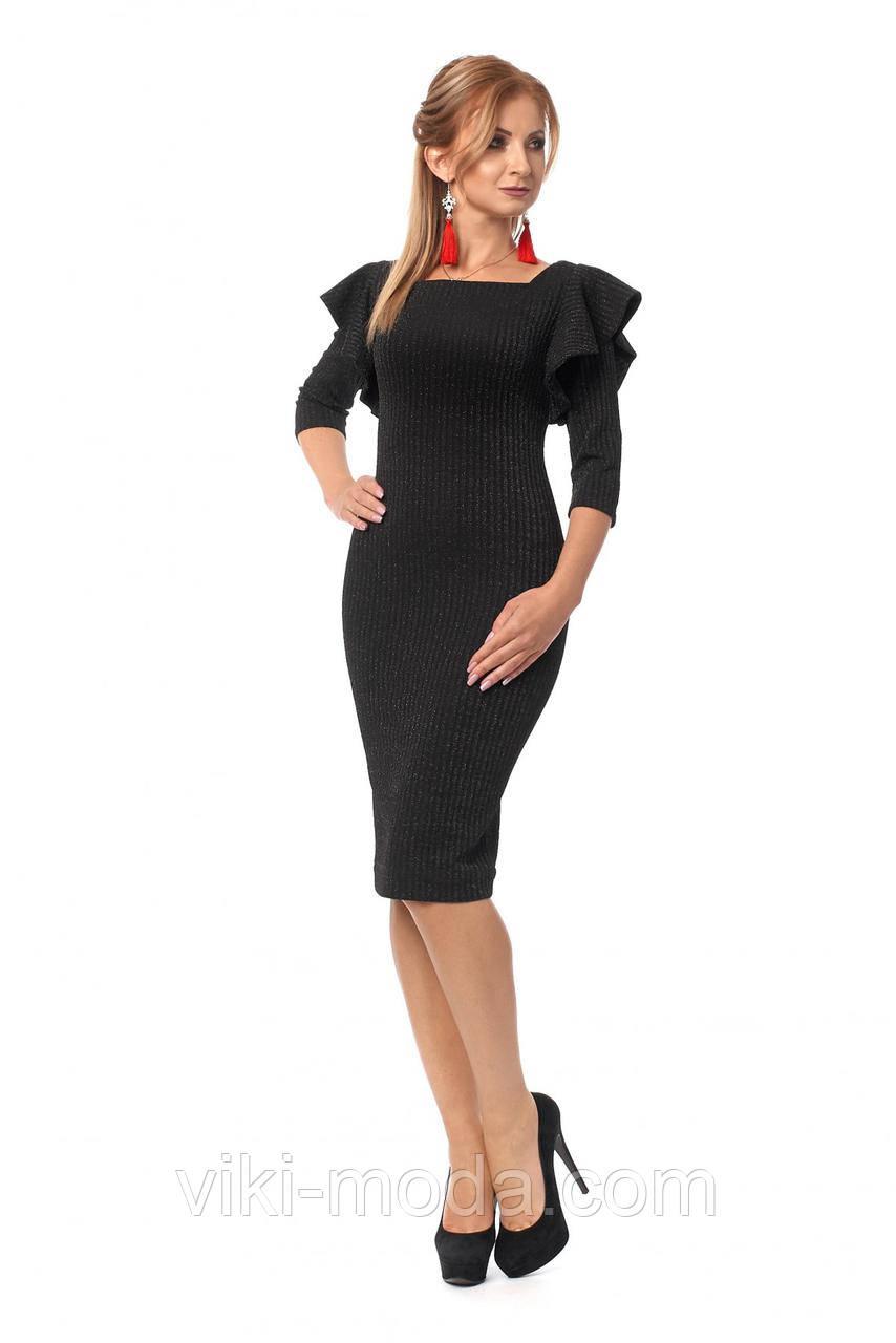 Платье женское приталенного силуэта