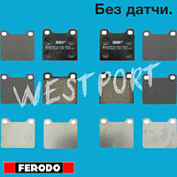 Тормозные колодки Ferodo Дисковые Без датчика износа FDB704