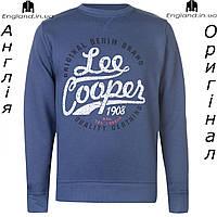 Кофта Lee Cooper флисовая синяя | Кофта Lee Cooper флісова синя
