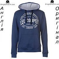 Кофта-худи Lee Cooper флисовая синяя | Кофта-худі Lee Cooper флісова синя