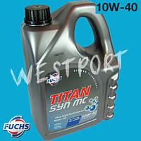 Масло моторное Fuchs TITAN SYN MC 10W-40 4л.